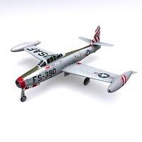 F-84G Thunderjet 9th FBS