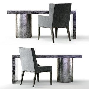 3D linea desk