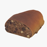 fruitcake scanned realistic model