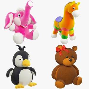3D model stuffed toys