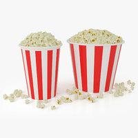 popcorns tubs model