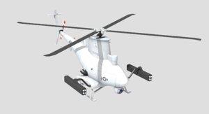 3D mq-8b scout