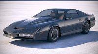 3D model car kitt