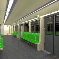 3D model train