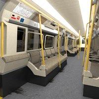 underground train 3D model