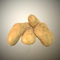 3D potatoes ready