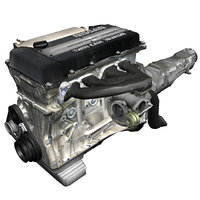 nissan sr20det engine parts 3d 3ds