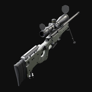 accuracy international awm 3D model