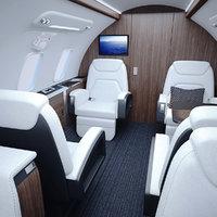 Bombardier Challenger Interior