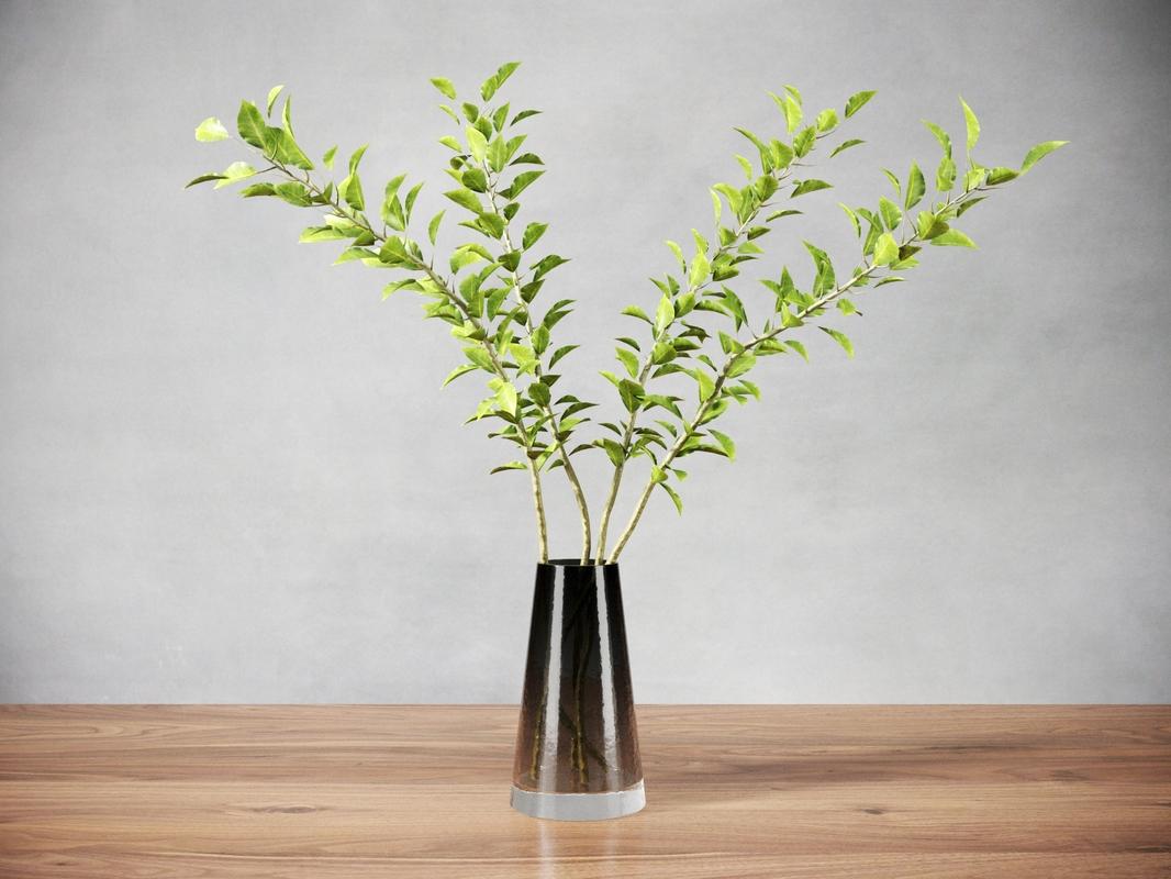 modern green plant 3D