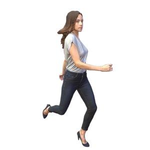 running heels model