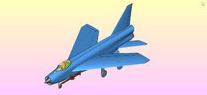 3D british ee lighting aircraft