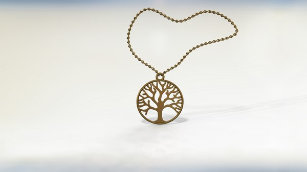 tree jewel 3D model