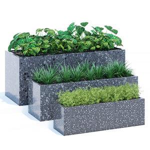lightweight terrazzo outdoor 3D model