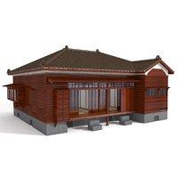 japanese house 3D