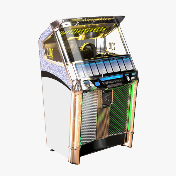 3d wurlitzer jukebox