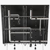 ceiling ventilation 9 3D model