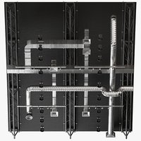ceiling ventilation 7 3D model