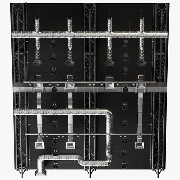 ceiling ventilation 8 3D model