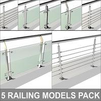 Railing pack