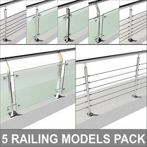 railing pack 3D