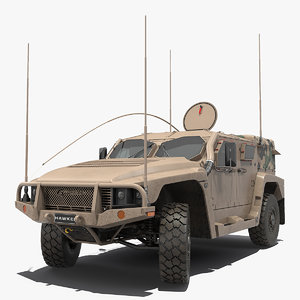 hawkei 4x4 protected mobility model