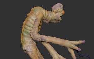 character creature demon model
