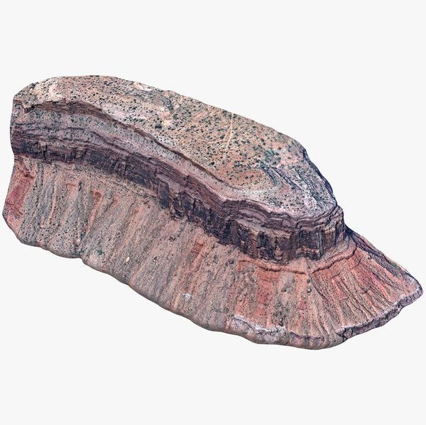 3D redstone cliff