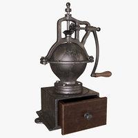 vintage coffee grinder model