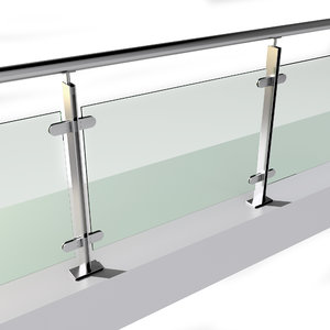 3D stainless steel railing