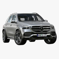 2020 mercedes benz gle 3D model