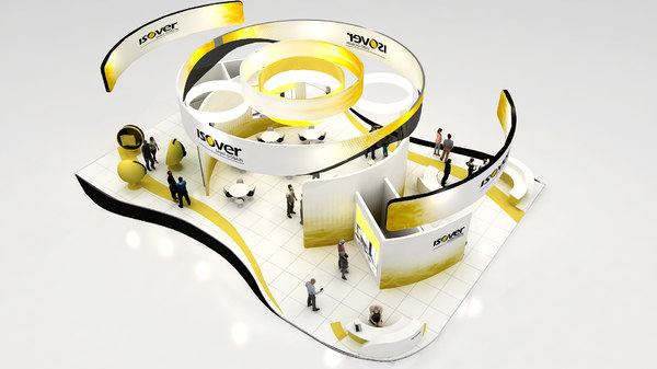 exhibition stand model