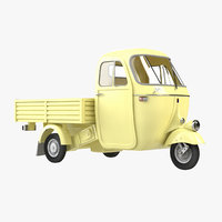 3D model ape piaggio transport vehicles