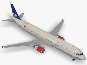 airbus scandinavian airlines a321 model