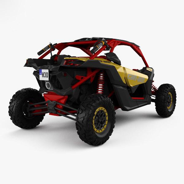 Brp Can Am >> Brp Can Am Maverick 3d Model Turbosquid 1361463