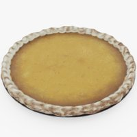pumpkin pie 3D