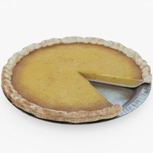 pumpkin pie missing 3D model
