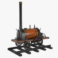 3D model yefim miron cherepanov russian