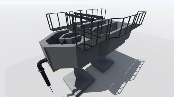 3D removal chamber screen model
