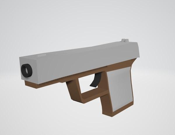 pistol model