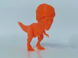 3D tyrannosaurus rex benedict cumberbatch