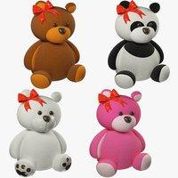 Stuffed Bears Set