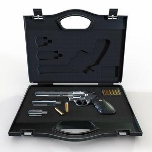 revolver colt python magnum 357 3D model