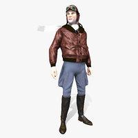 flyboy pilot - 3D