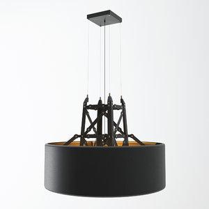 3D construction lamp