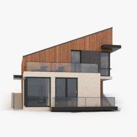 modern house 3D