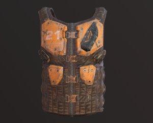 armor body 3D model