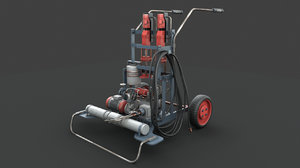 3D portable industrial