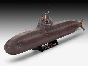 type 212 submarine 3D model