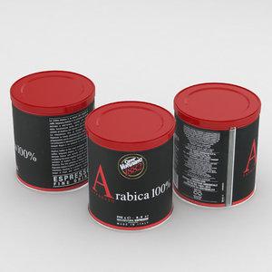 3D model coffee arabica